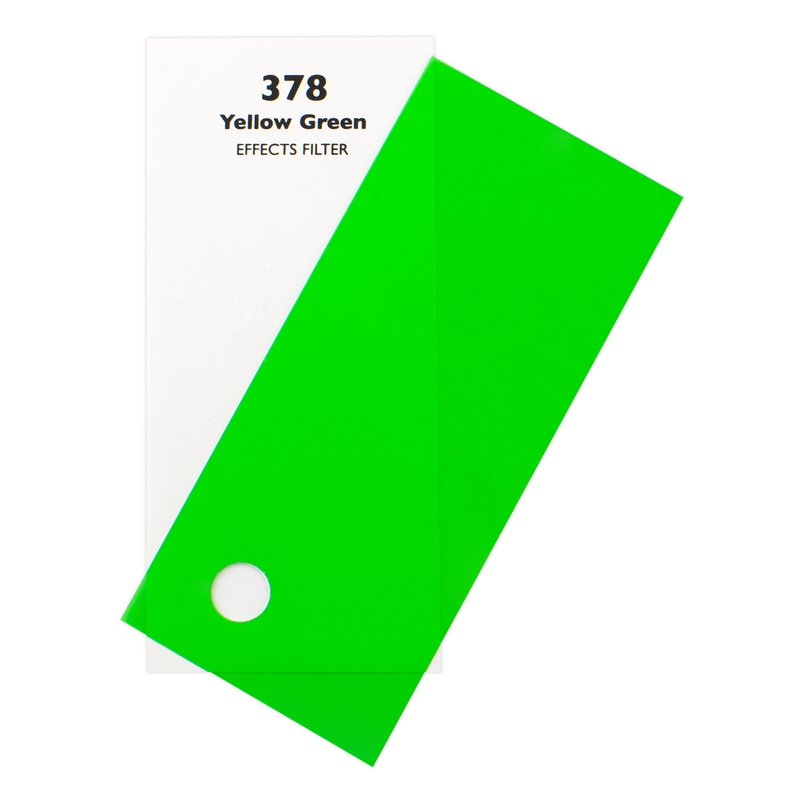 Светофильтр Chris James 378 Yellow Green 1.00 м х 1.22 м