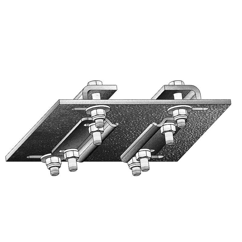 Фиксатор IFF FF3674 BRACKET TO FIX RAIL TO I BEAM 120/240