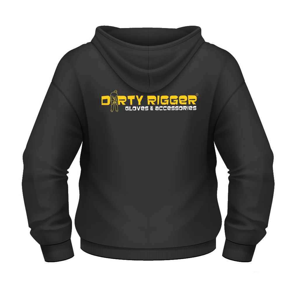 Худи на молнии DIRTY RIGGER EMBROIDERED (DTY-HOODIEZIPXXS) размер XXS