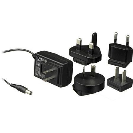 Black Manfrotto ADAPTOR12v1.25a AC Adaptor