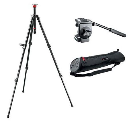Штатив  MANFROTTO 128RC,755XBK TR755XB+HD128RC+MBAG80N