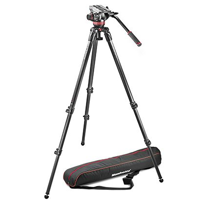 Штатив  MANFROTTO MVK502C-1 PRO VIDEO CARBON SYSTEM-4KG