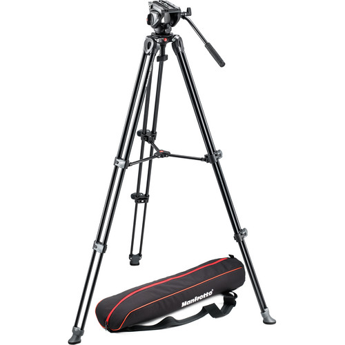 Штатив  MANFROTTO MVK500AM 500 TWIN ALU LEG VIDEO SYSTEM