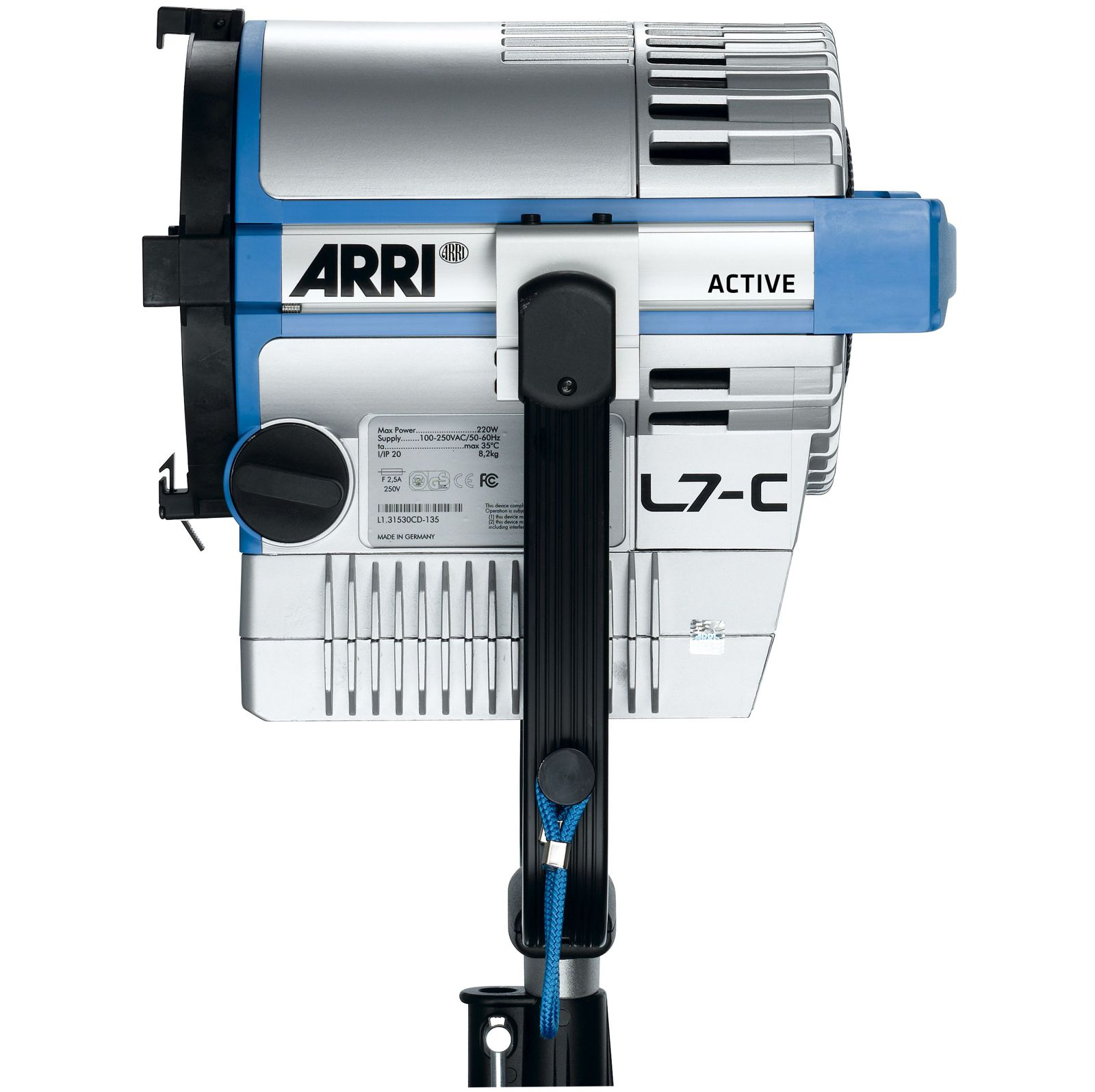 Прибор ARRI L7-C L1.0003646 (LE2, Hanging, Blue/Silver, 1.5 m cable with Bare Ends)