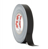 Matt gaffer tape LE MARK MAGTAPE™ MATT 500+ 25mm x 50m Black (CT50025BK)