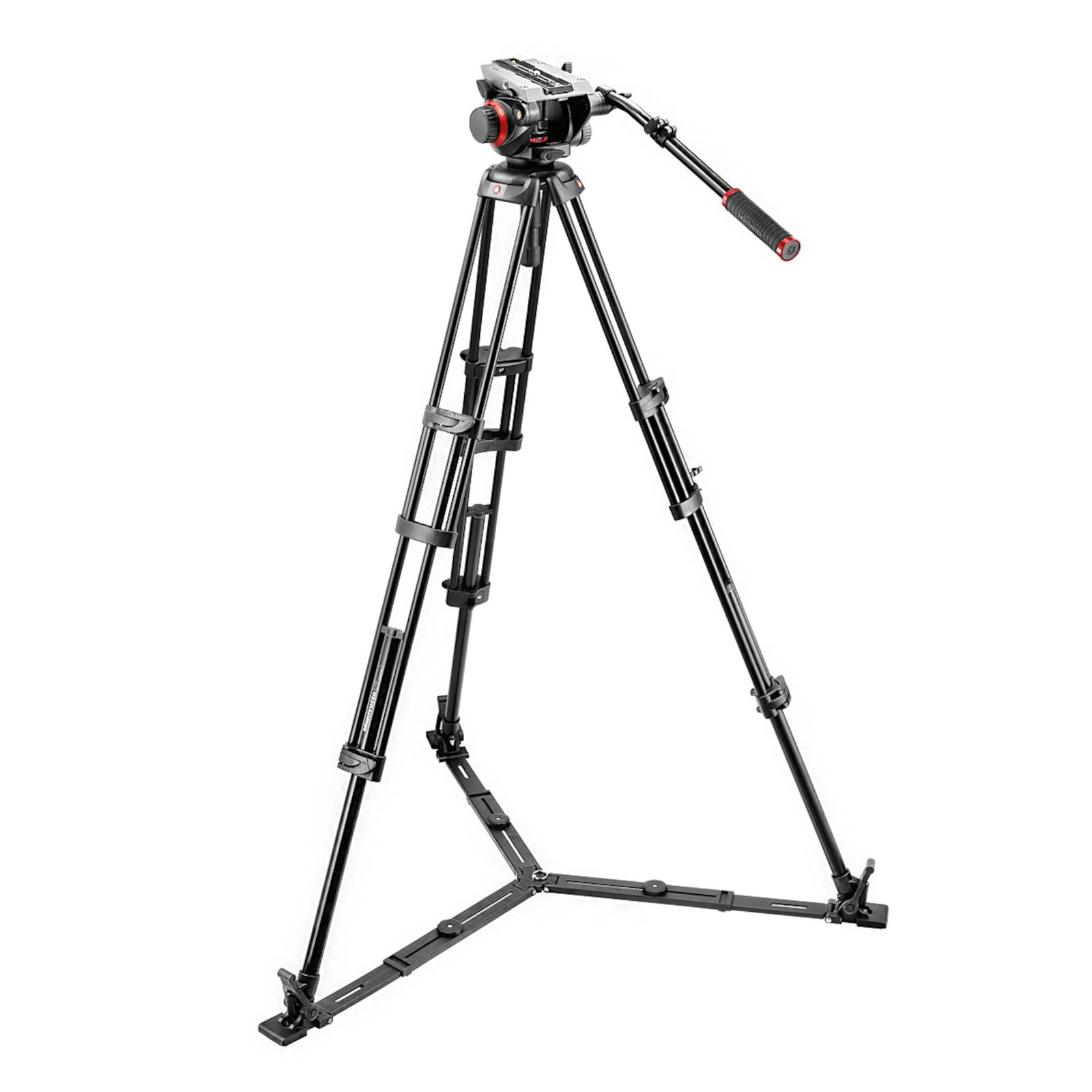Штатив MANFROTTO 504HD,546GBK MIDI TWIN SYSTEM(GS)