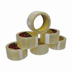 Packing tapes set 6 pcs Scotch 3M 371  50 mm х 50 m Transparent