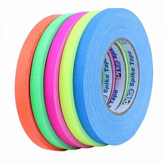 Tapes set LE MARK PRO-GAFFER™ FLUORESCENT 12mm x 23m (PROGAFF12FLBUNDLE)