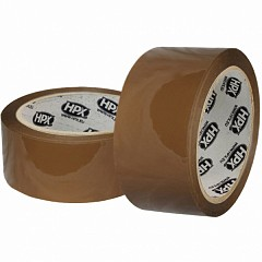 Packing tape HPX 48mm x 66m Brown (SKB486645)