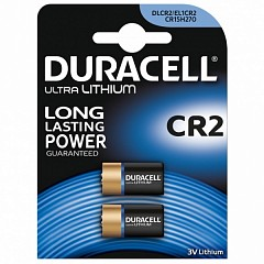 Duracell CR2 (DLCR2-2) batteries 2 pcs