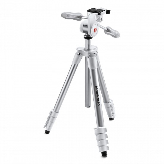 Штатив MANFROTTO MKCOMPACTADV-WH COMPACT ADVANCED 3-WAY WHITE