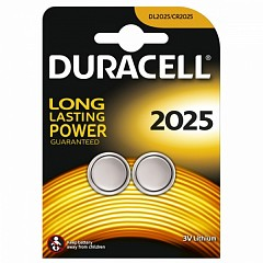 Батарейки Duracell CR2025 (DL2025-2) 2 шт.
