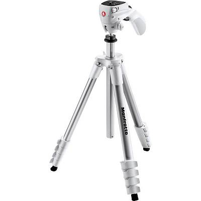 Штатив  MANFROTTO MKCOMPACTACN-WH COMPACT ACTION WHITE