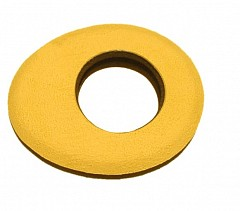 Eyecushion BLUESTAR 6012 Oval Large Fleece Yellow