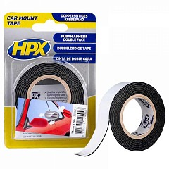 Acrylic tape HPX Car Mount 19mm x 2m Black (ZC0025)