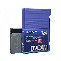 Video Cassette SONY PDV-124ME