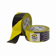 Warning tape HPX Safety Tape 50mm x 33m Yellow, Black (HW5033)