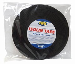Sealing tape HPX 20mm x 10m Black (SK9062010)