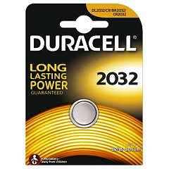 Батарейка Duracell CR2032 (DL2032) 1 шт.