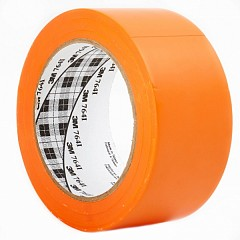 Marking PVC tape 3M Scotch 764 50mm х 33m Orange (0764-OG-50-33,0)