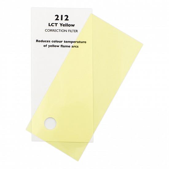 Chris James Lighting Filter 212 LCT Yellow 7 62m х 1 22m to