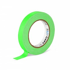 Fluorescent gaffer tape LE MARK PRO-GAFFER™ FLUORESCENT 19mm x 23m Green (PROGAFF19NGN)