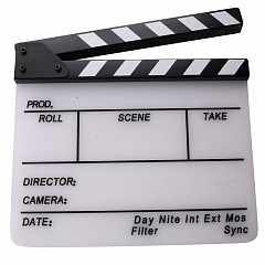 Clapper board MLux KT-0409W White