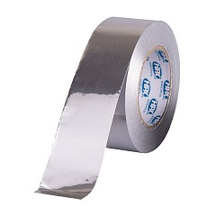 Aluminium tape HPX 40mm x 100m Silver (ALU/PET40100)