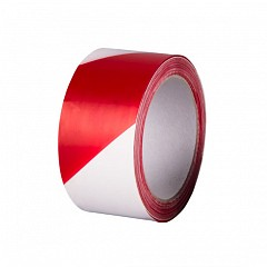 Warning tape HPX Barrier Tape 50mm x 50m Red, White (B5050)