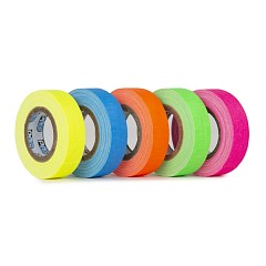 Tapes set LE MARK PRO-GAFFER™ FLUORESCENT 12mm x 5,4m (Pro Gaff Fluor Minimix)