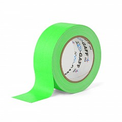 Fluorescent gaffer tape LE MARK PRO-GAFFER™ FLUORESCENT 48mm x 23m Green (PROGAFF48NGN)
