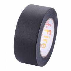 Flammability tested gaffer tape LE MARK GAF-FIRE 48mm x 25m Black (FG2284825BK)