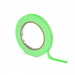 Fluorescent gaffer tape LE MARK PRO-GAFFER™ FLUORESCENT 12mm x 23m Green (PROGAFF12NGN)