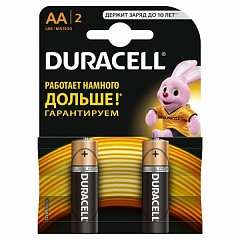 Duracell AA (LR06-2) batteries 2 pcs