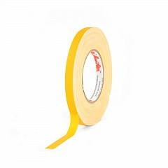 Matt gaffer tape LE MARK MAGTAPE™ MATT 500+ 12mm x 50m Yellow (CT50012Y)