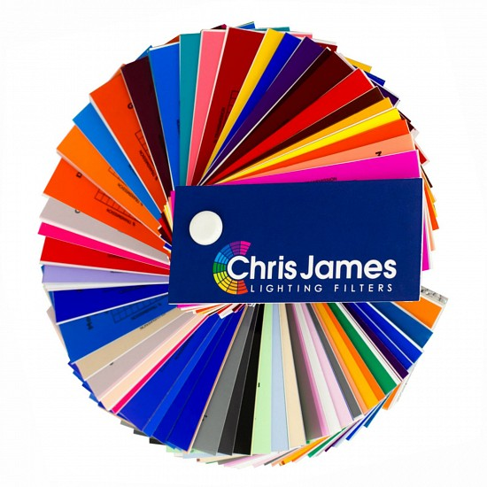 Светофильтр Chris James 354 Special Steel Blue Голубой 1.00 м х 1.22 м
