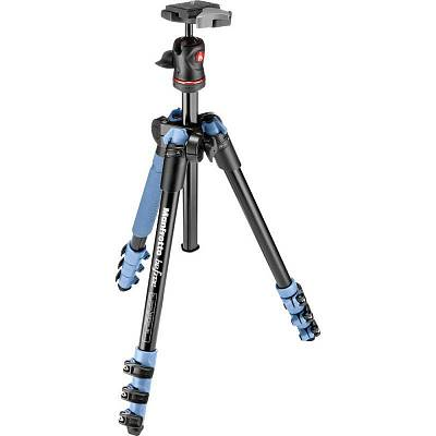 Штатив  MANFROTTO MKBFRA4L-BH BEFREE ALU BLUE TRIPOD+BALL H