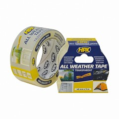 Repair tape HPX ALL WEATHER 48mm x 5m Transparent (AT4805)