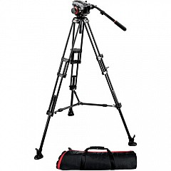 Штатив MANFROTTO 504HD,546BK MIDI TWIN SYSTEM(MS)