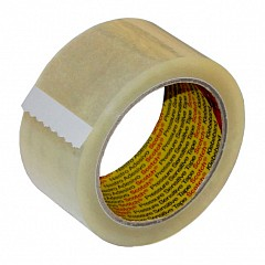 Packing tape Scotch 3M 371 50 mm х 50 m Transparent 1 pcs (371 (50х50))