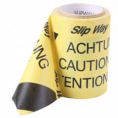 Slipway cable cover tape LE MARK 145mm x 30m Black, Yellow (SW14530Y)