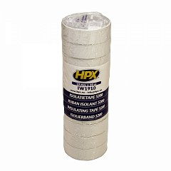 Electrical insulation tape HPX 5200 19mm x 10m White (IW1910)