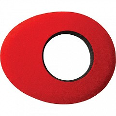 Eyecushion BLUESTAR 6012 Oval Large Microfiber Red