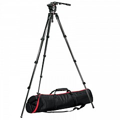 Штатив MANFROTTO 526,536K 526 Video Head+536 CF Tripod