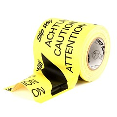 Slipway extra-gloss cable tape LE MARK 145mm x 30m Black, Yellow (SWUT14530BKY)