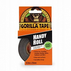 Multi-purpose adhesive tape LE MARK GORILLA TAPE 25mm x 9m Black (GORILLAHANDYBK)