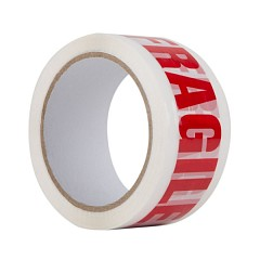 Packing tape LE MARK FRAGILE 50mm x 66m (V5066FRAGILE)