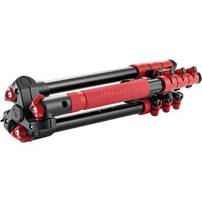 Штатив MANFROTTO MKBFRA4R-BH BEFREE ALU RED TRIPOD+BALL H