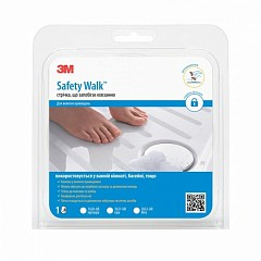 Anti-slip tape 3M Safety Walk 7620 25mm х 4.57m Transparent (7620)