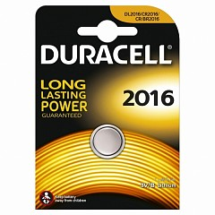 Батарейка Duracell CR2016 (DL2016) 1 шт.